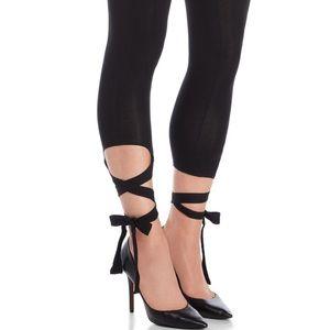 🖤NWT Jessica Simpson Cutout Tie Leggings Size LG